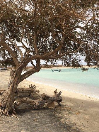 Vila do Maio, Cape Verde: The local beach