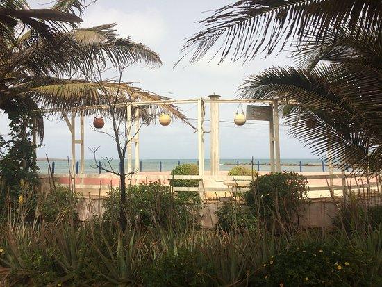 Vila do Maio, Cape Verde: The breakfast area