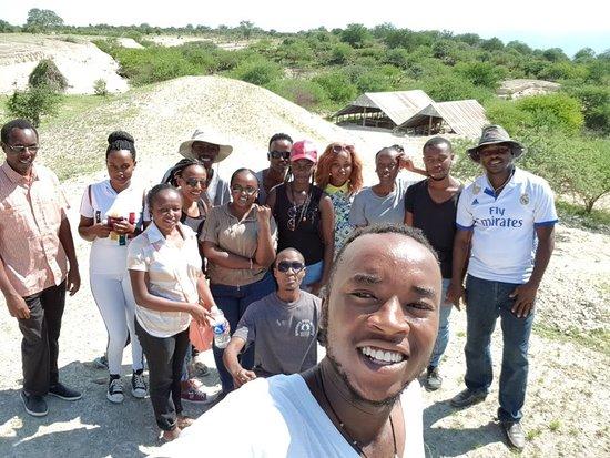 Magadi, Kenya: still iat the sites terrain