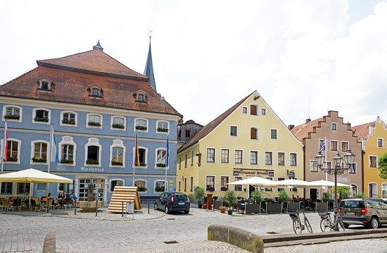 Berching, Německo: фасад