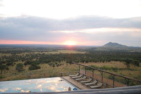 Easy Travel & Tours Ltd: Serengeti sunrise. From Kabu Kabu tented lodge