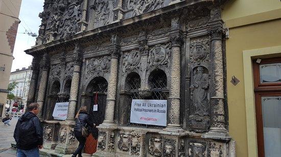 Fasada Budynku Picture Of Chapel Of The Boim Family Lviv