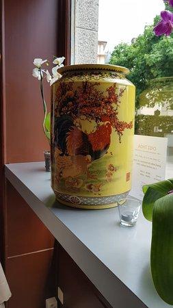 Clarens, Swiss: ### la décoration très asiatique  !!!