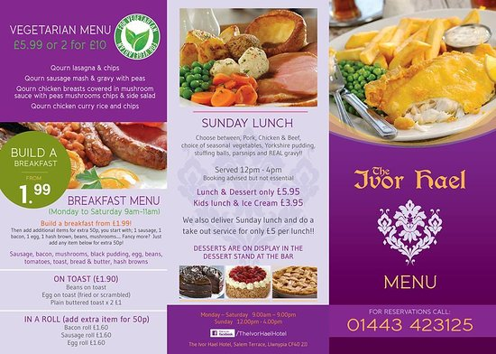 The Ivor Hael Hotel Tonypandy Updated 2020 Restaurant