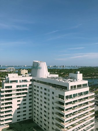 Eden Roc Miami Beach Resort City View Of Old Hotel Now Part The