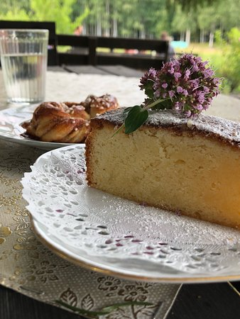 Bredsjo, Swedia: Bredsjö Blå Ostkafé & Gårdsmejeri
