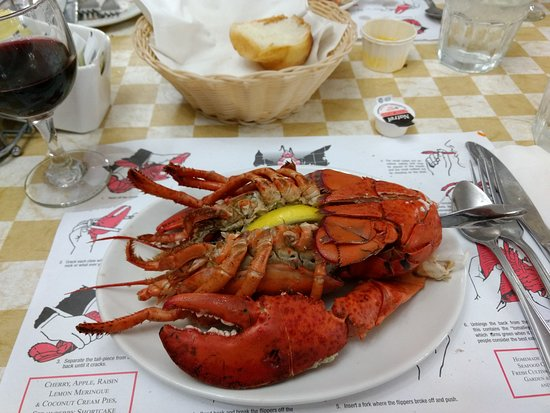 New Glasgow Lobster Supper: lobster