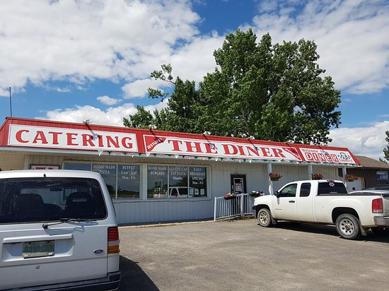 Balgonie, Canada: exterior of The Diner