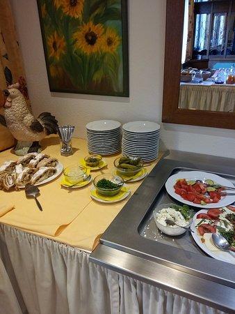 Reifnitz, Østerrike: Завтрак