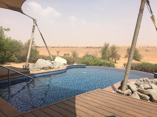 Al Maha, a Luxury Collection Desert Resort & Spa, Dubai: Private pool