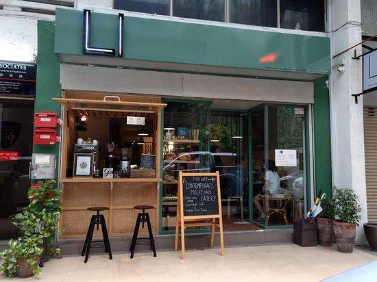 Storefront Of Li Restaurant Picture Of Li Restaurant