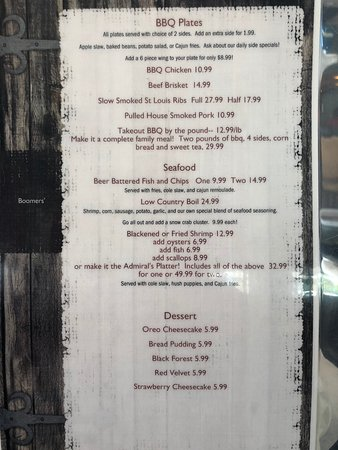 Port Wentworth, GA: Menu
