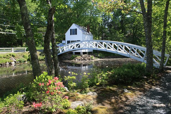 Mount Desert Island, ME: Somesville Historical Museum and Gardens