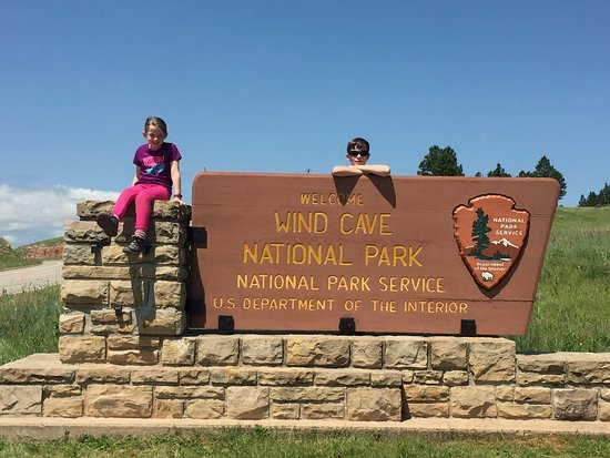 Wind Cave National Park, Dakota do Sul: There was no admission to get in to the park!