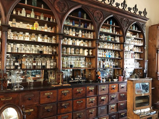 Matjiesfontein, South Africa: Apothecary in the museum