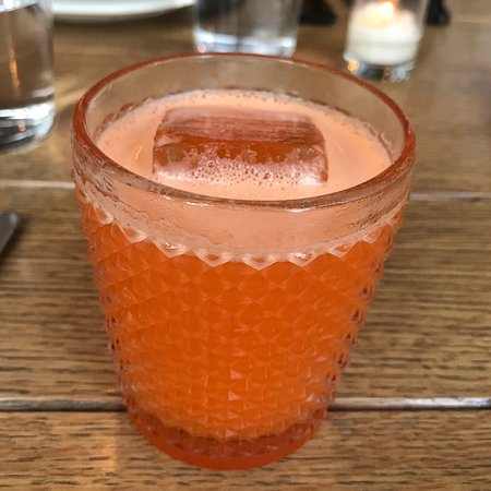 Bad Hunter: Perfect carrot cocktail.