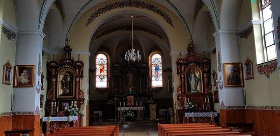 Zalipie, Polen: Malowany kościół