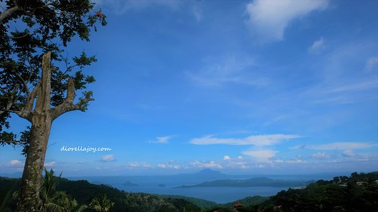 Discovery Country Suites: a scenic view of Taal lake