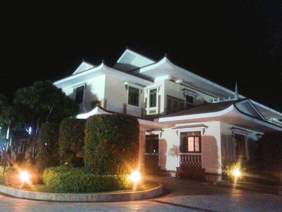 Lingayen, Filipinas: Urduja House at dusk