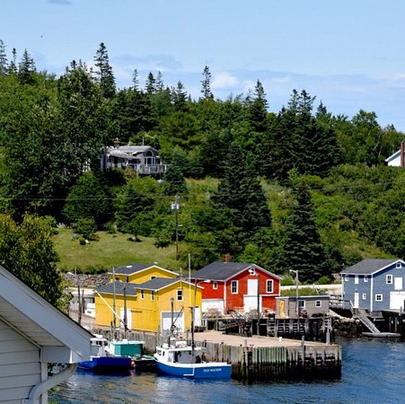 Nova Scotia South Shore, Canada: South Shore fishing village