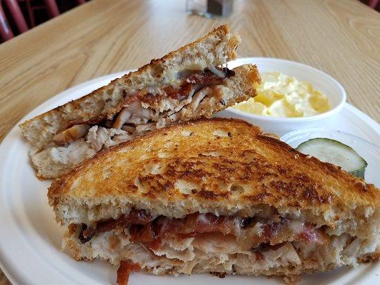Pelican Rapids, Μινεσότα: Turkey Bacon Melt