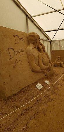 Seebad Ahlbeck, Jerman: Sandskulpturen Ausstellung Usedom