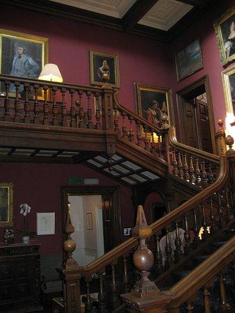 Lenham, UK: Main staircase in main house