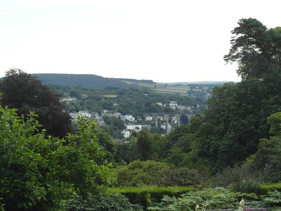 Cotehele: The view of the Tamar Valley