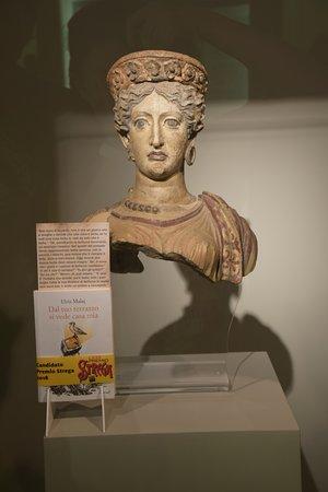 busto della dea giunone ローマ museo nazionale etrusco di villa