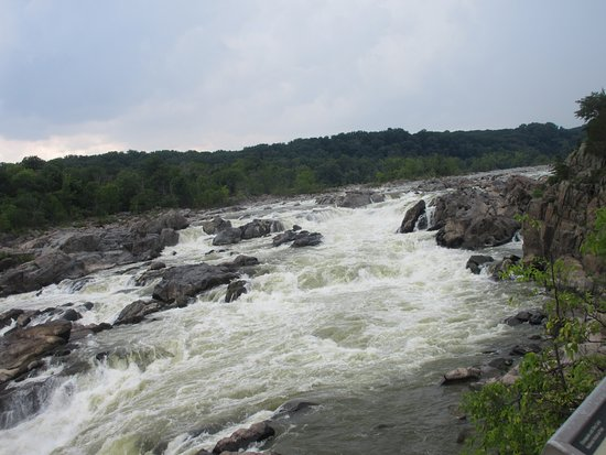 Potomac, MD: View of the main Falls