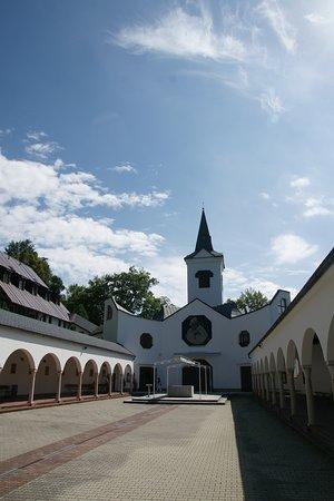 Zlate Hory, Czech Republic: Courtyard