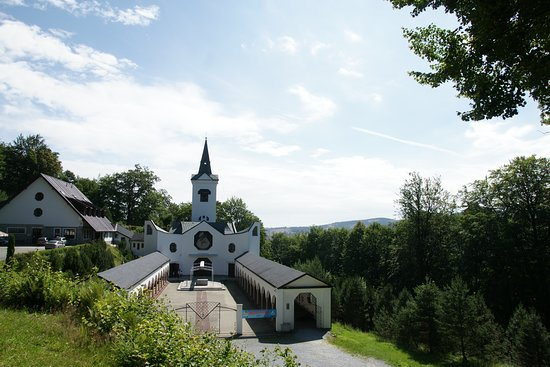 Zlate Hory, Czech Republic: The campus of the pilgrimage church