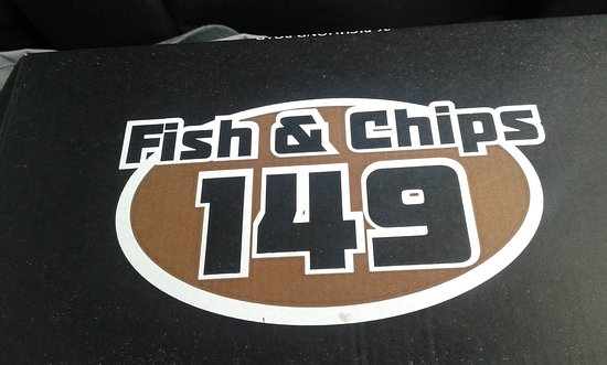 Fish and Chips at 149: the box
