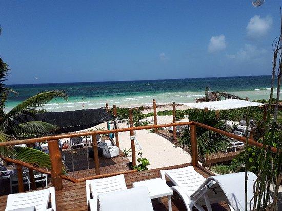 The Beach Experience Mahahual Quintana Roo Mexican Caribbean Picture Of Hayhu Beach Mahahual Tripadvisor