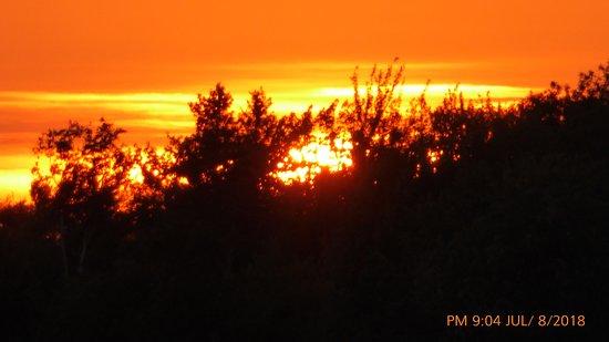 Callander, Canada: Sunset over Lake Nipissing.