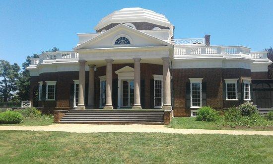 Monticello, residencia de Thomas Jefferson: Thomas Jefferson's House