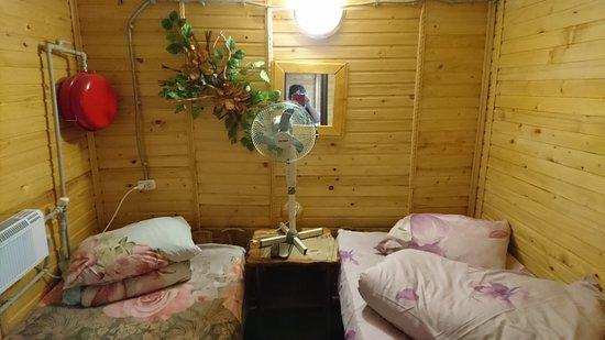 Berezhany, Ukraina: The room with no windows.