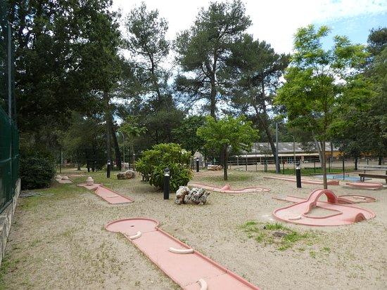 Nans-les-Pins, Frankreich: Mini golf