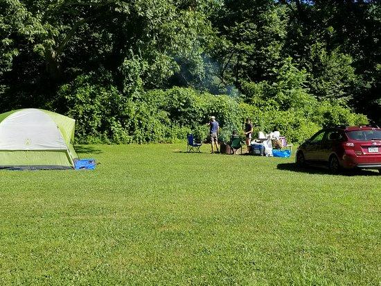 Columbia, NJ: Our campsite (051)