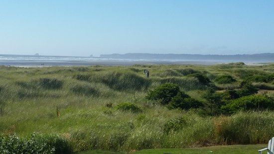 Moclips, WA: Beach view.