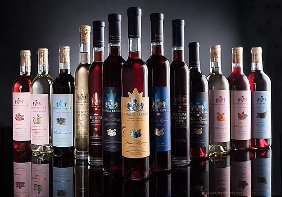 Ричмонд, Канада: Our Berry Wine Selection