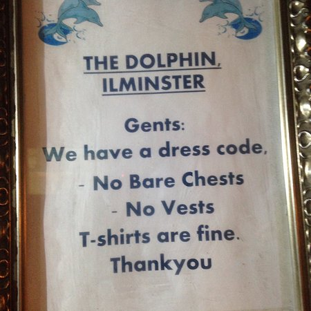 The Dolphin: What is it about this that isn't clear?