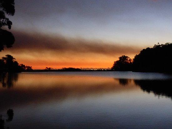 Burekup, Αυστραλία: Red sky at night, shepherds delight.
