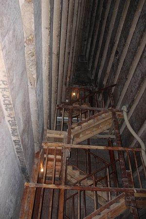 North Pyramid (Piramide Roja): Staircase to the burial chamber