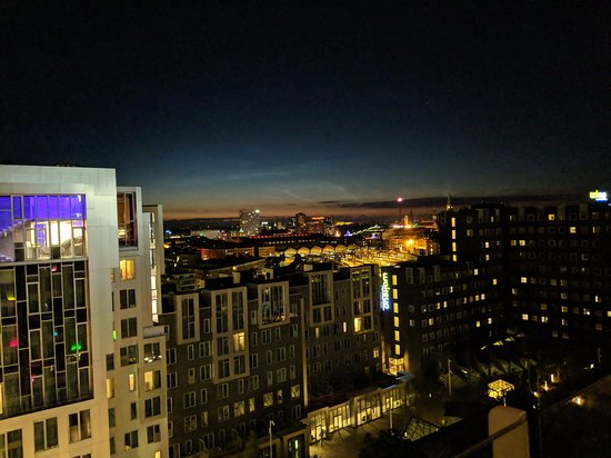 View From Rooftop Bar Picture Of Tivoli Hotel Copenhagen