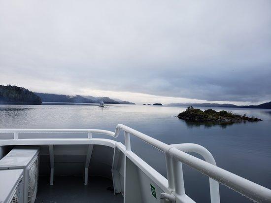 Puerto Pañuelo: vista catamaran