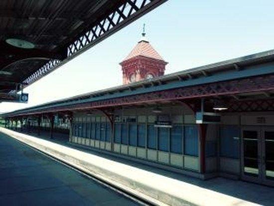 Wilmington, DE: Arrival/Depart platform