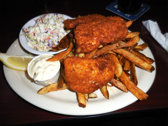 Chinook, WA: Ling Cod Fish and Chips (special)