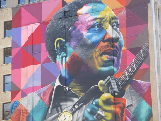 ‪Muddy Waters Mural‬