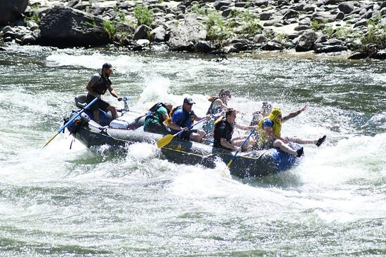 """H2O Fluvial riding the bull"""" as they say - picture of h2o idaho - day tours"""